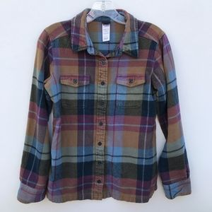 Patagonia Fjord Flannel Plaid Shirt #341